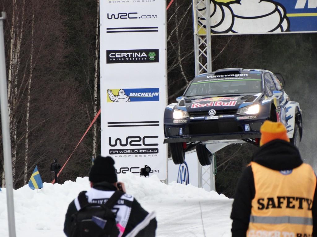Finale race, rally van zweden