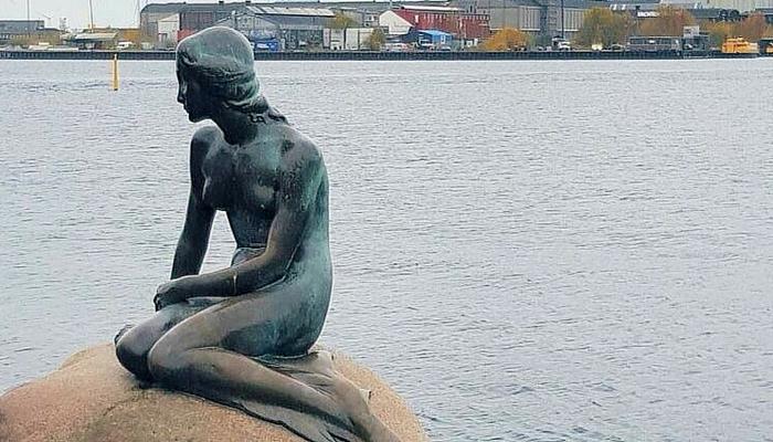 Kopenhagen - de kleine zeemeermin
