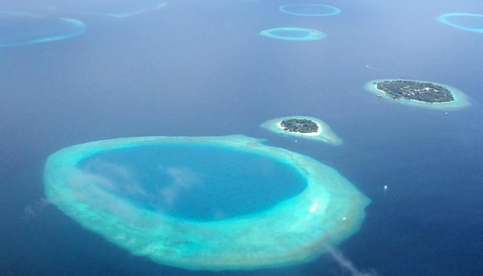 Malediven uitzicht