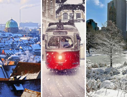Winterse stedentrips