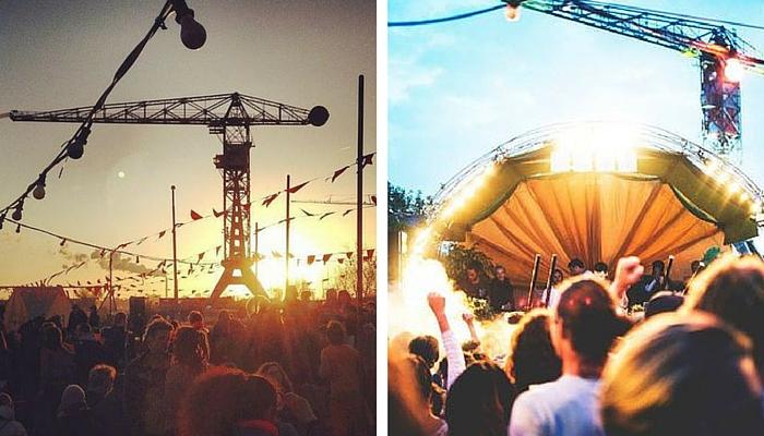NDSM-werf festival seizoen