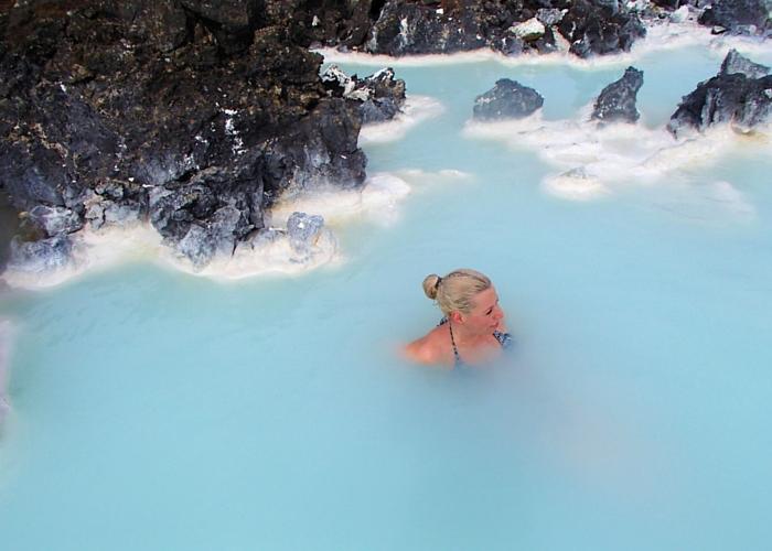 IJsland blue lagoon
