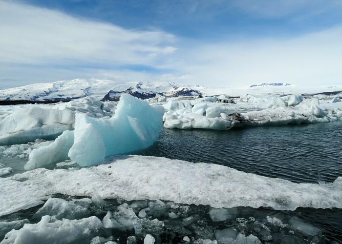 IJsland ijsschotsen Jokulsarlon