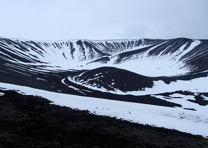 IJsland Myvatn vulkaan