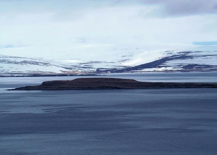 IJsland geweldig uitzicht