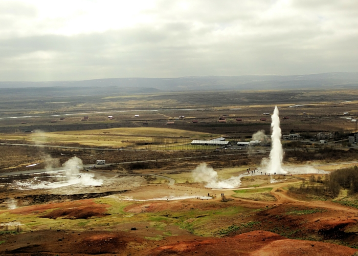 IJsland overzicht geisers