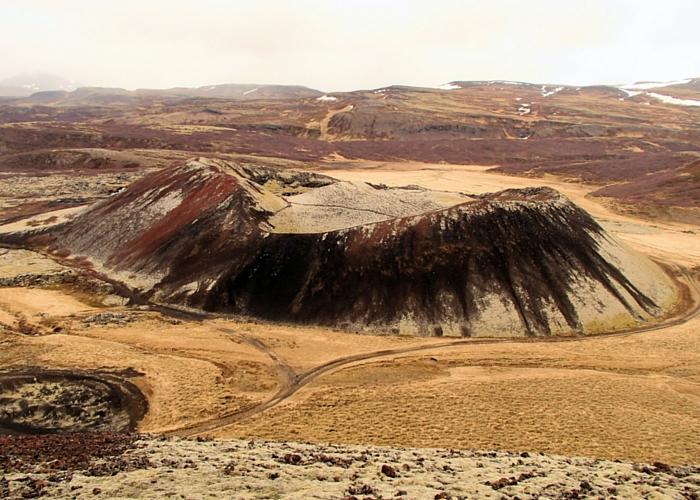IJsland vulkanen