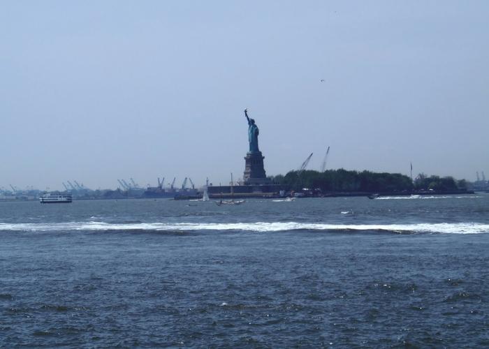 Governors island vrijheidsbeeld