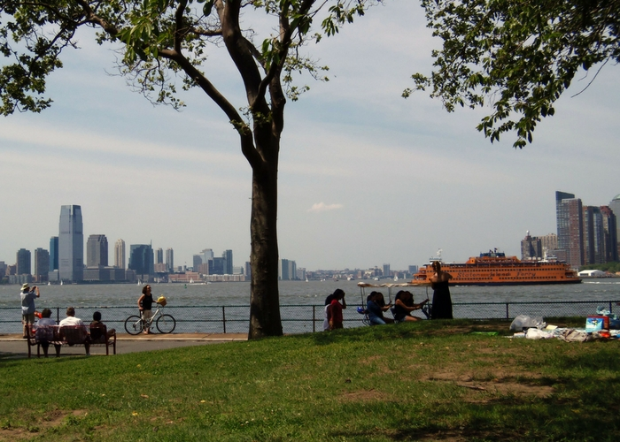 Governors Island park