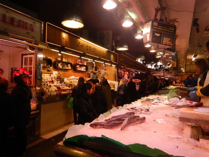 De markten van Barcelona