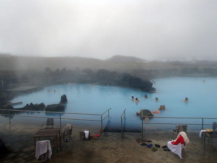 Warmwaterbronnen Myvatn IJsland