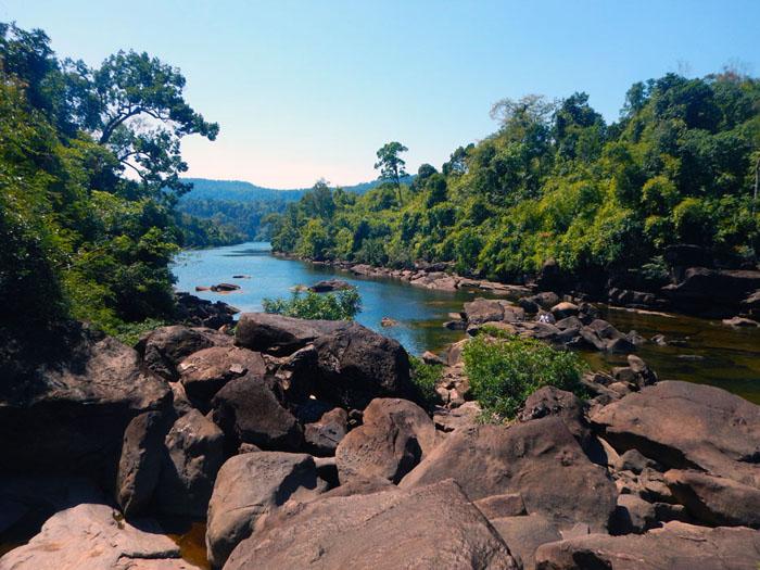 Tatai rivier Cambodia