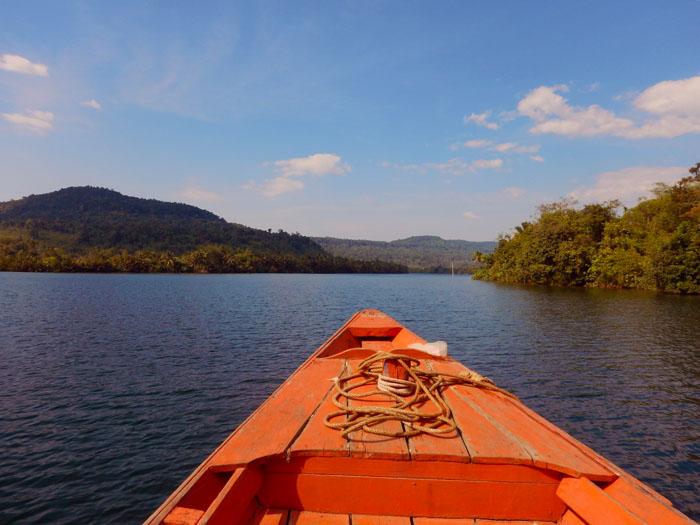 Tatai rivier Cambodja