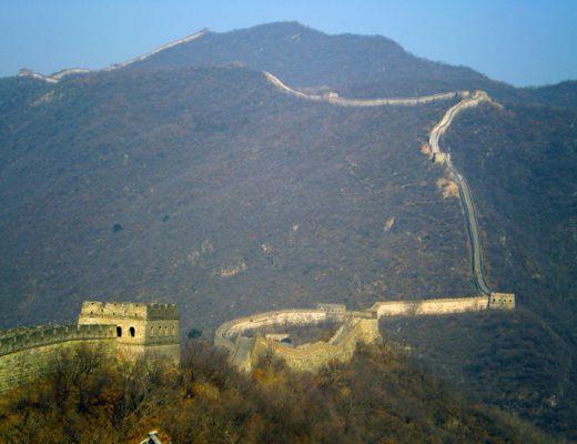 China-Beijing-Chinese-Muur-foto