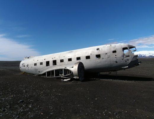 DC-3 Vliegtuigwrak Vik IJsland