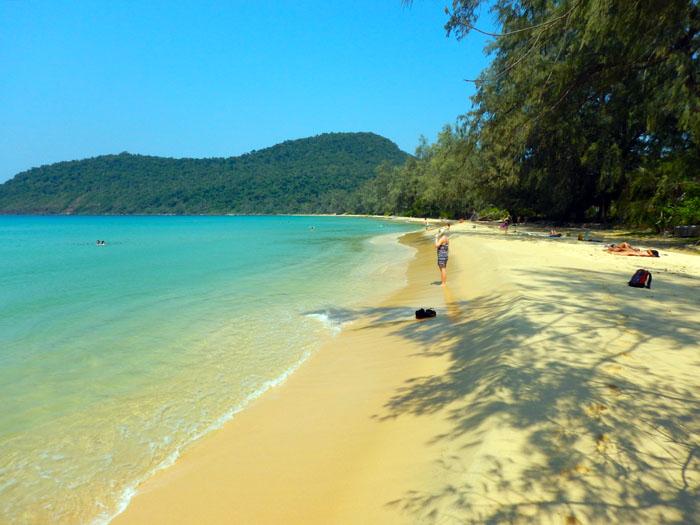 Lazy Beach, Koh Rong Samloem Cambodja