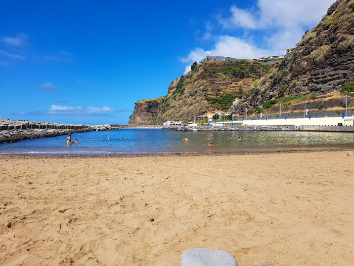 Caletha strand Madeira