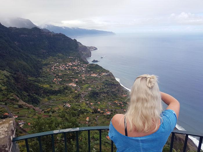 Uitzicht Noord Madeira