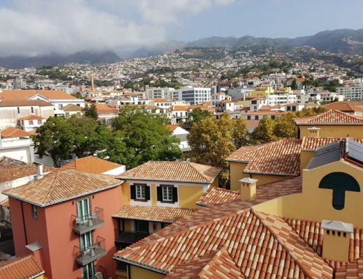 Funchal hoofdstad van Madeira
