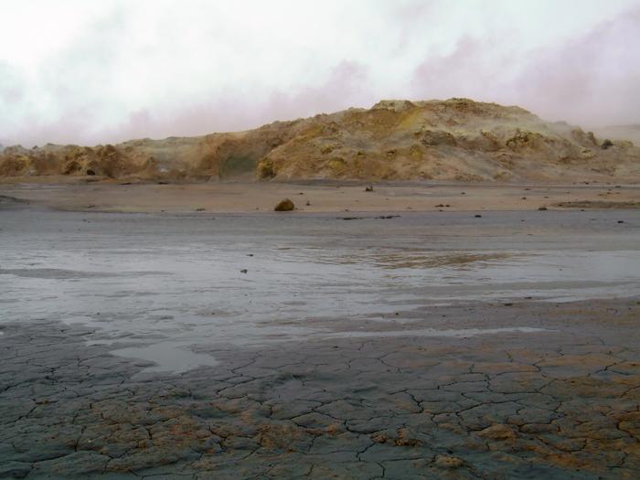 Hverir in Mývatn IJsland