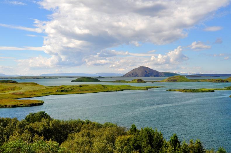 Natuurgebied Mývatn IJsland