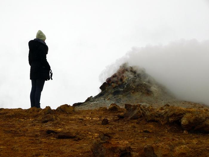 atuurgebied Mývatn Hverir IJsland