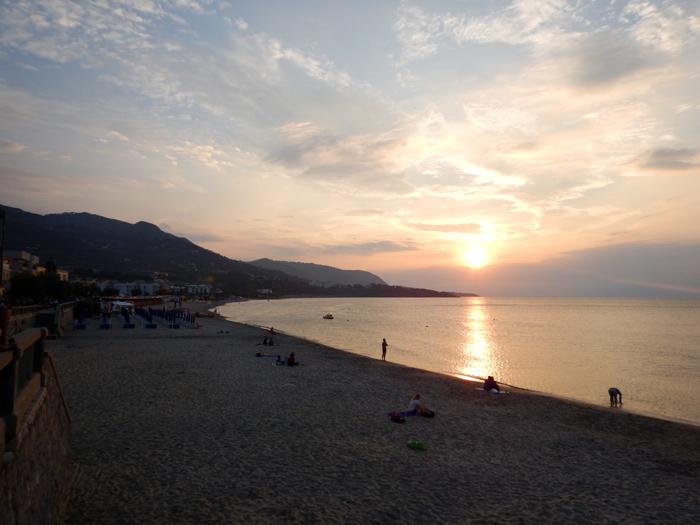dorp Cefalu Sicilië Italië