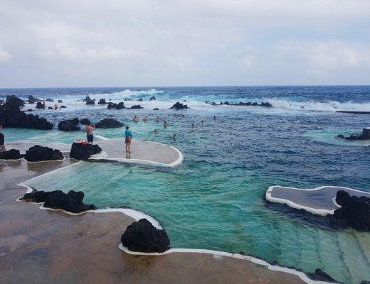 Natuurlijke baden Porto Moniz Madeira