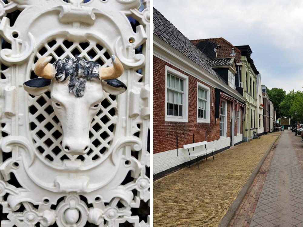 Het dorp Middenbeemster Laag Holland