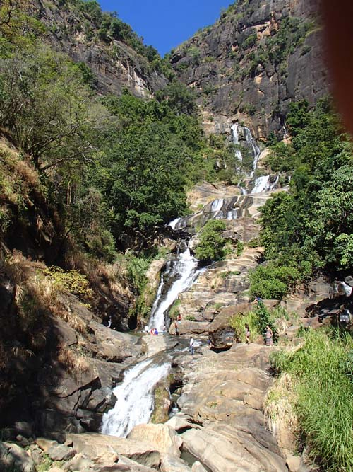 Rawana Falls Ella Sri Lanka