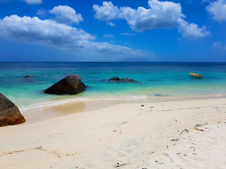 Strand Grand Anse op Mahe