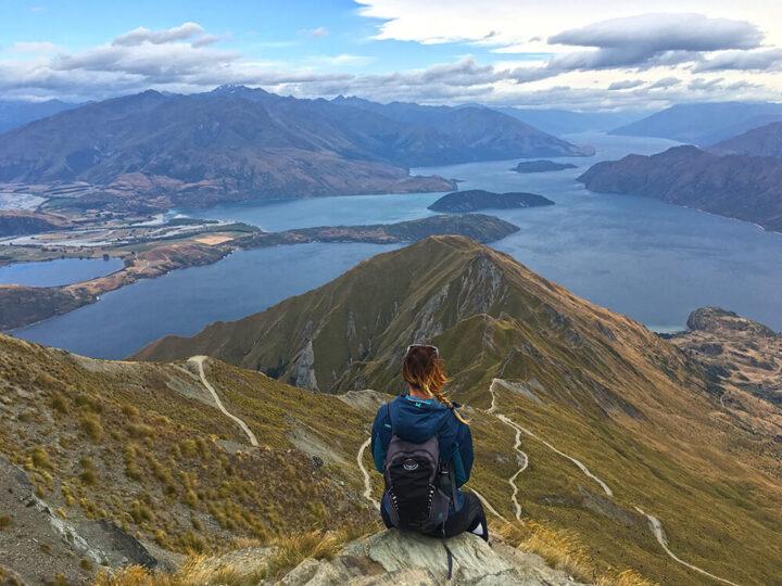 Roys Peak hike Nieuw-Zeeland