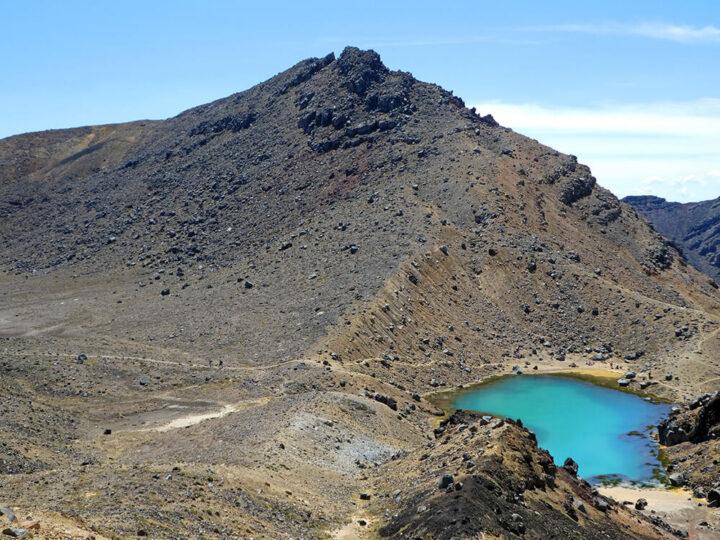 Tongariro crossing Nieuw Zeeland hike